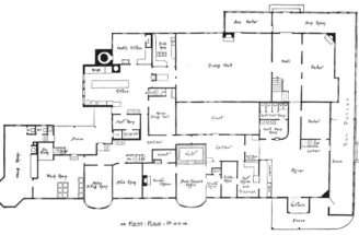 Luxury Mansion Floor Plans Design