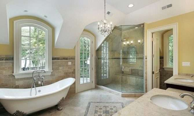 Luxury Master Bathroom Floor Plans Ideas Photos