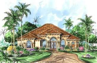 Luxury Mediterranean Home Plans House Design