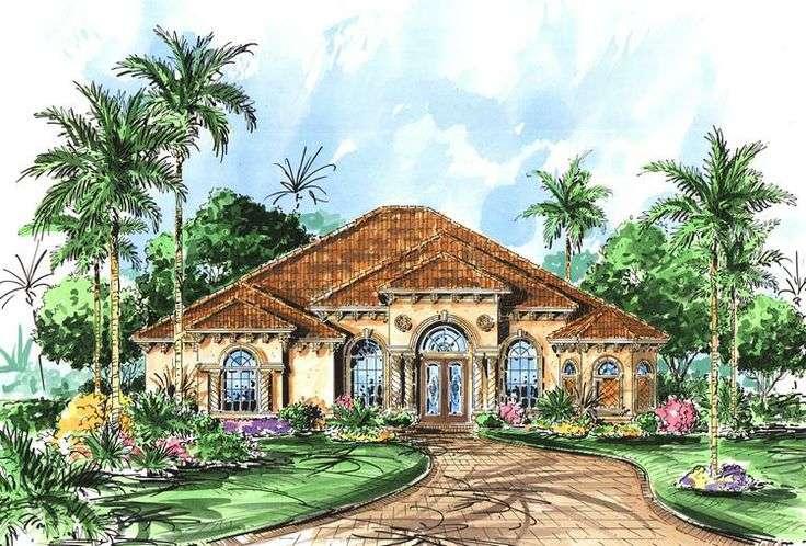 Luxury Mediterranean Home Plans House Design