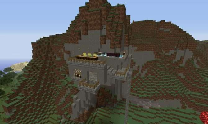 Luxury Mountain Homes Minecraft Project