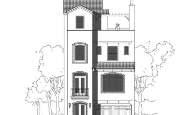 Luxury Story Townhouse Floor Plan Sale