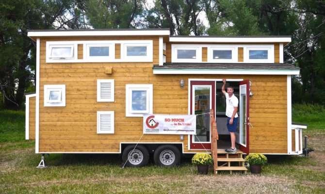 Luxury Tiny Home Wheels House Chattanooga