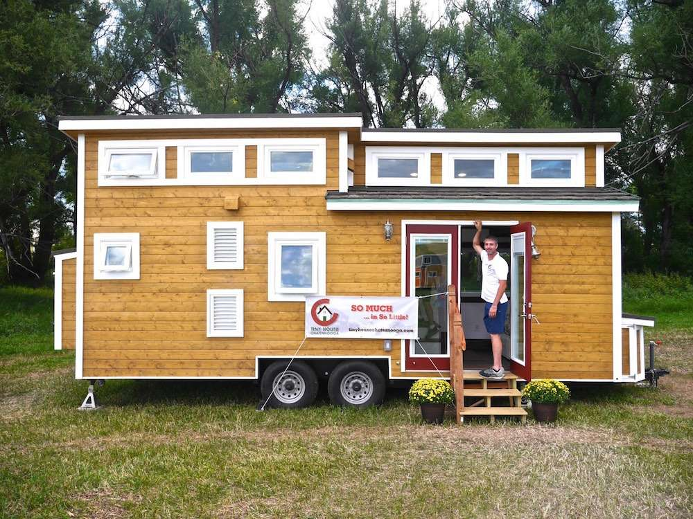 Luxury Tiny Home Wheels House Chattanooga