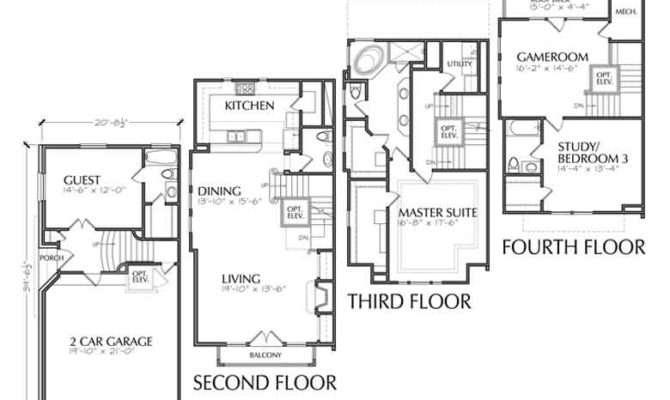 Luxury Townhouse Floor Plans Urban Loft Townhomes