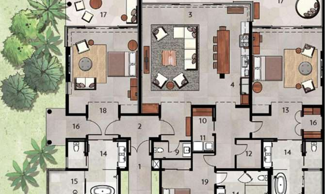 Luxury Villas Floor Plans