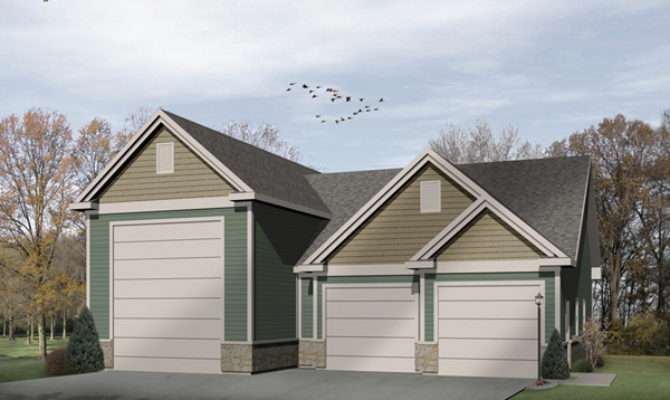 Lyric Two Car Garage Plan House Plans