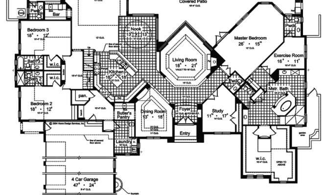 Madeira Beach Spanish Home Plan House Plans