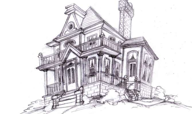 Magellin Blog Old House Sketch
