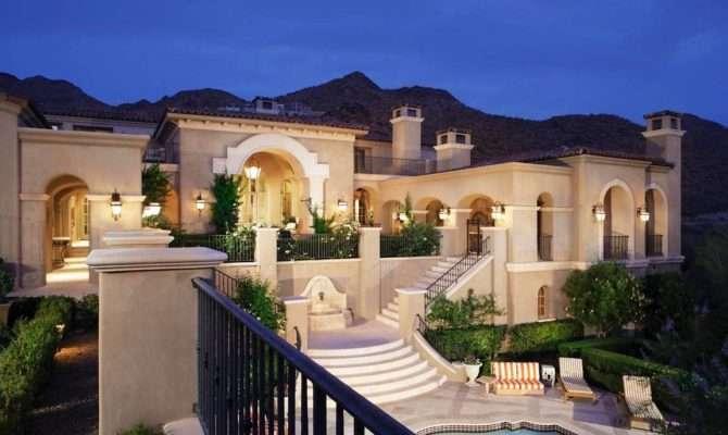 Magnificent Mediterranean Style Homes Sale