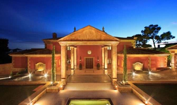 Magnificent New Roman Style Palatial Villa Spain Homes