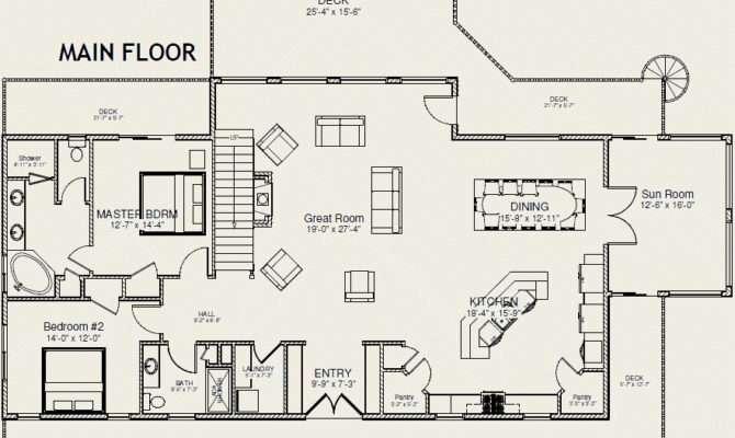 Main Floor Floorplan