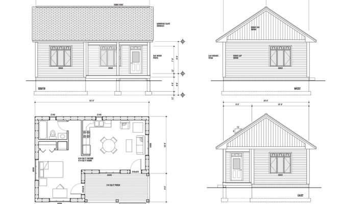 Maison Scoudouc House Plan
