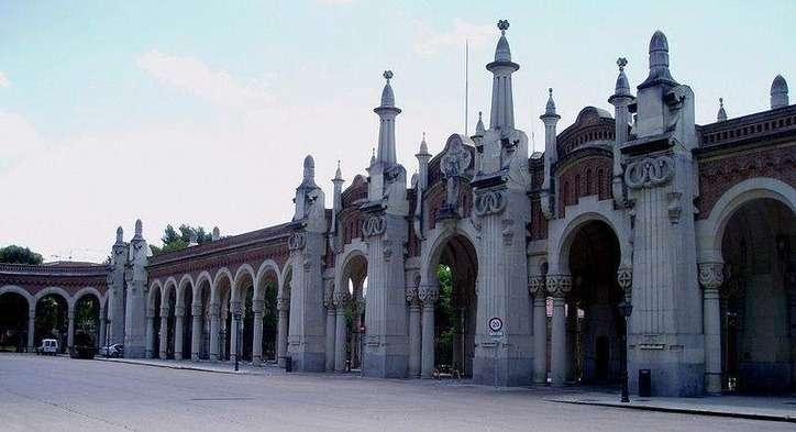 Majestic Entrance Cemetery