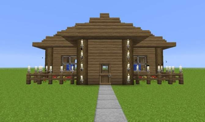 Make Simple House Minecraft Beginners Blog