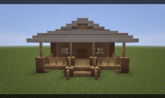 Make Small Minecraft House Youtube