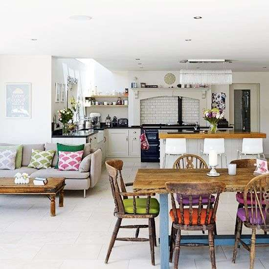 Make Your Living Dining Room Feel Like Separate Spaces