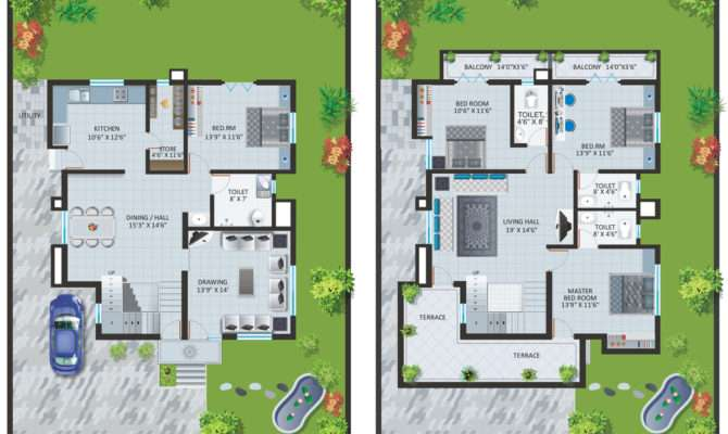 Malaysia Bungalow Designs Floor Plans Home