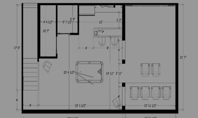 Man Cave Designs Furniture Floor Plans