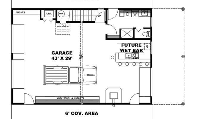 Man Cave Open Floor Plan Deep Deck