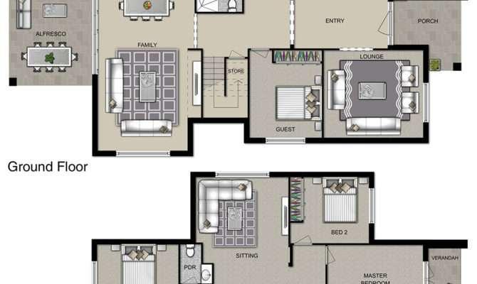 Manhattan Homes Double Storey House Designs Floor
