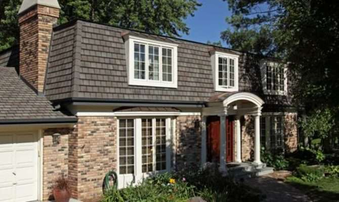 Mansard Style Roof