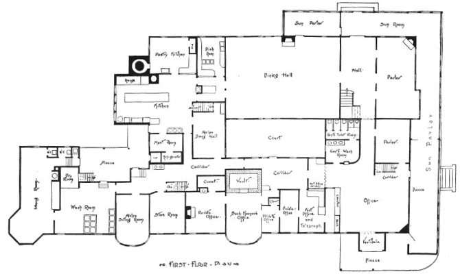 Mansion Blueprints