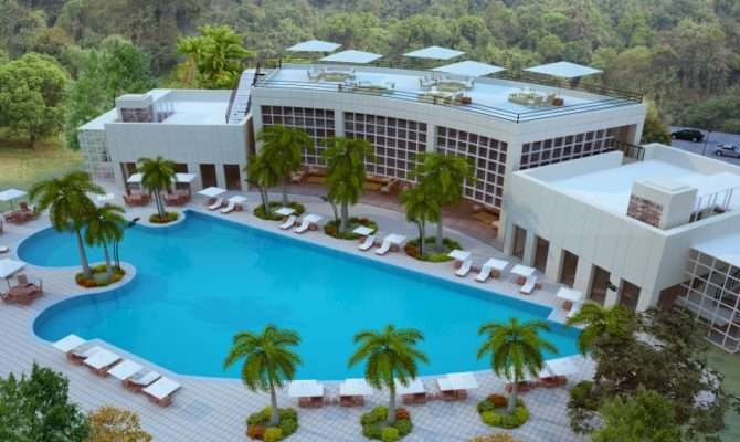Mansions Villas Huge Swimming Pool