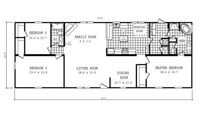 Manufactured Home Floor Plan Schult Theater Cla