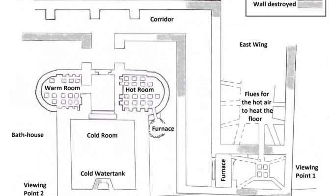Map Billingsgate Roman Bath House