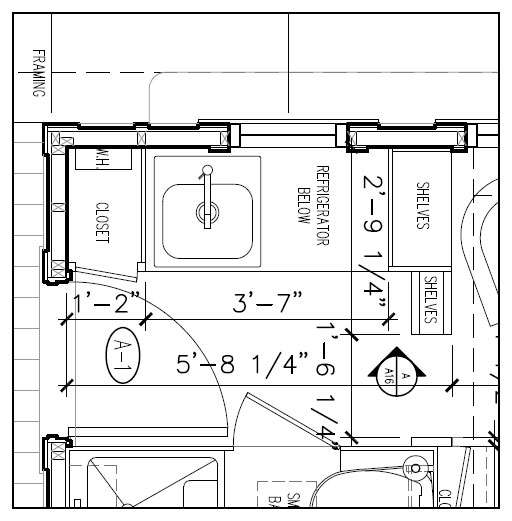 Marie Colvin Tiny House Floor Plan Four Lights