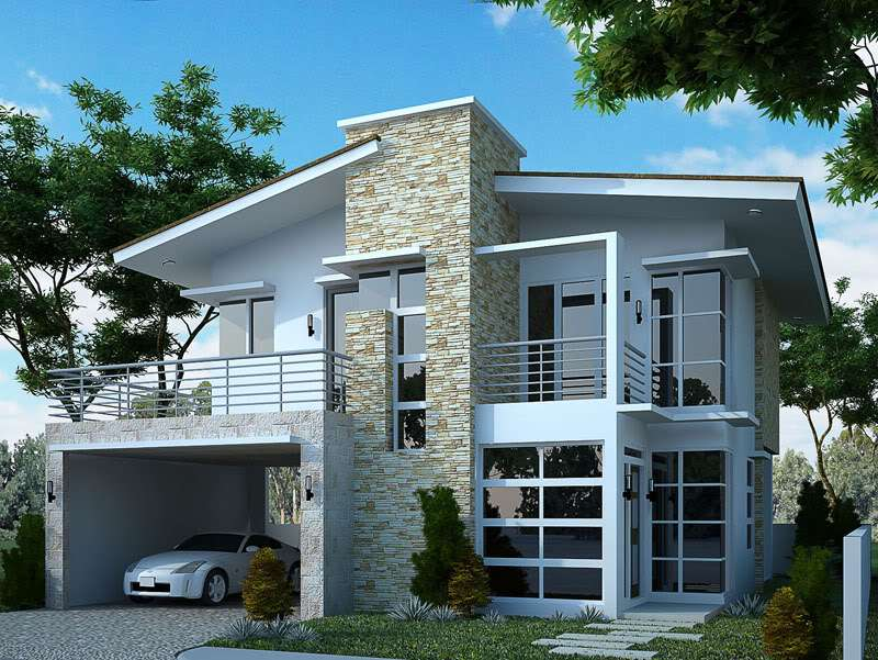 Marquee Storey Modern House Plans Plan