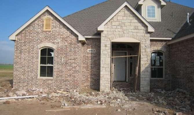 Martin New Home Brick Stone Stucco