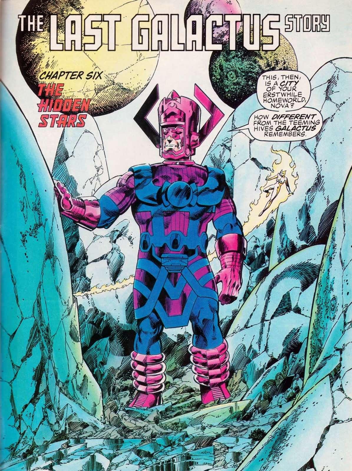 Marvel Comics Last Galactus Story