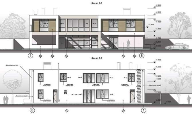 Marvellous House Plan Contemporary Exterior