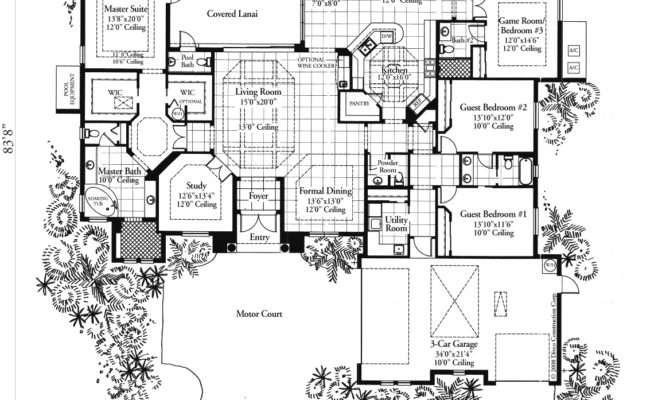 Marvelous Builder Home Plans Luxury Homes Design Floor