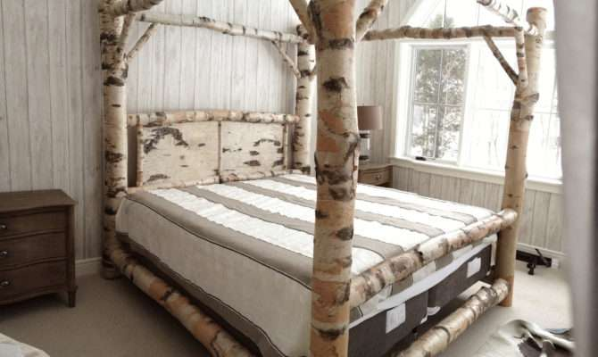 Marvelous Ideas Build Wood Canopy Bed Frame