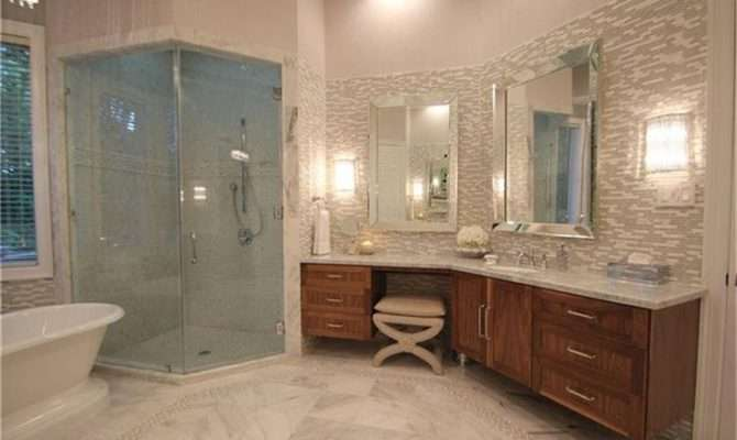 Master Bathroom His Her Vanities Home Design Pinterest