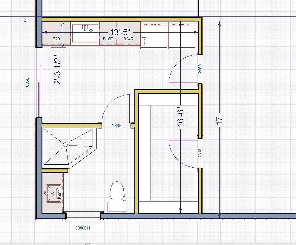 Master Bathroom Layout Ideas Sketch