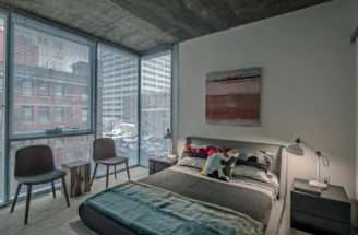 Master Bedroom Apartment Jeff Jack Chicago