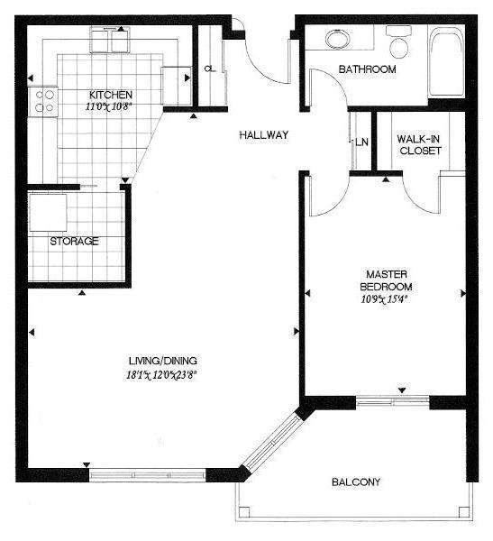 Master Bedroom Floor Plans Bathroom Addition