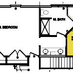 Master Bedrooms Bathroom Floors Plans Small Closet