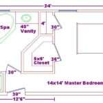 Master Suite Floor Plans Bedroom Bathroom Creative