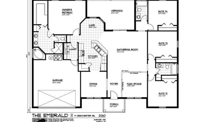 Master Suite Floor Plans Bedroom