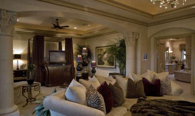 Master Suite Mediterranean Bedroom Las Vegas