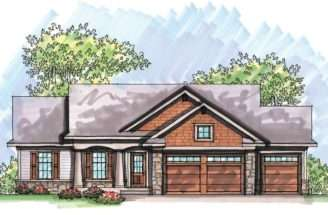Maxhouseplans Log Home House Plans One Story Cabin Plan
