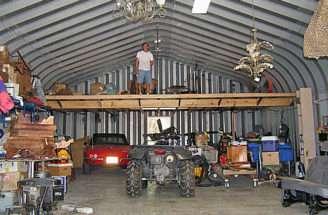 Maximize Your Shop Space Build Second Floor Storage Loft