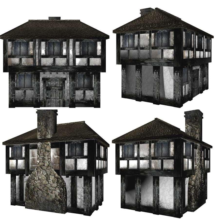Medieval Home Floor Plan Needed