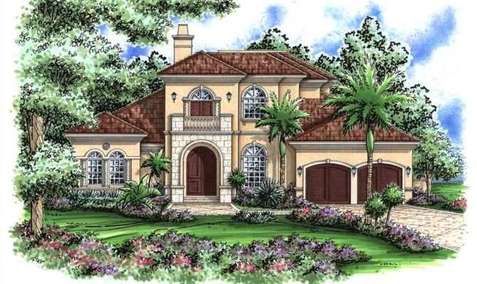 Mediterranean Designs Florida Style Home Plans House