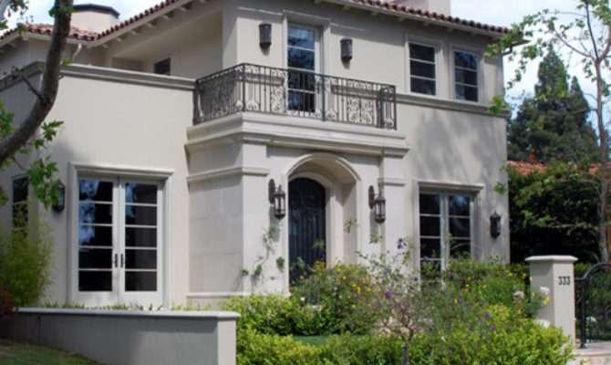 Mediterranean Home Design Exterior Los
